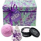 (ラッシュ) LUSH リラックス Relax ギフトセット ショップバッグ付き 入浴剤 ボディローション セット