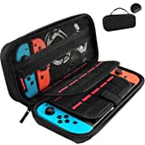 GameFan Switch Carrying Case compatible with Nintendo Switch - 20 Game Cartridges Protective Hard Shell Travel Carrying Case