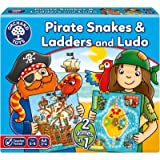 Orchard Toys Board Game - Pirate Snakes & Ladders & Ludo