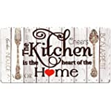 Farmhouse Kitchen Mats Cushioned Anti-Fatigue Comfort Mat for Home & Office Ergonomically Engineered Memory Foam Kitchen Rug