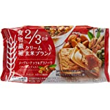 Asahi Cream Maple Rice Bran Biscuits, 72 g