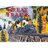 Great Trains Calendar 2021 Wall
