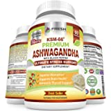 Ashwagandha KSM-66 by Fresh Healthcare, 1200mg Pure and Potent Root Extract Capsules with Natural Black Pepper for High Absor