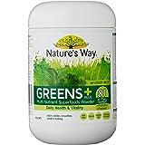 Nature's Way Super Foods Greens Plus, 300g, Tropical Flavor, 0.34 Kilograms