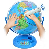 Little Experimenter Talking Globe - Interactive Globe for Kids Learning with Smart Pen - Educational World Globe for Children