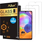 Ailun Glass Screen Protector for Galaxy A 31 3Pack Tempered Glass for Samsung Galaxy A 31 0.33mm Ultra Clear Anti-Scratch Cas