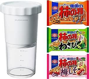 【Amazon.co.jp 限定】 亀田製菓 FURIKAKIX (フリカキックス)  柿の種3種パック付き