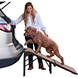 Pet Gear Free Standing Ramp for Cats and Dogs. Great for SUV's or use Next to your Bed. 4 Models to Choose from, Supports 200