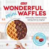 DASH DCB001MW Wonderful Mini Waffles Recipe Book with Gluten, Vegan, Paleo, Dairy + Nut Free Options, Over 80+ Easy to Follow