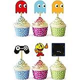 24x Cupcake Topper Picks (Pacman)