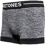 BETONES (ビトーンズ) メンズ ボクサーパンツ CLASH BLACK dwearsステッカー入り ローライズ アンダーウェア 無地 ブランド 男性 下着