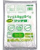 オルディ キッチンポリ袋 小 半透明 横18×縦25cm 厚さ0.01mm プッチ袋 食品保存袋 徳用 PDS100 1…