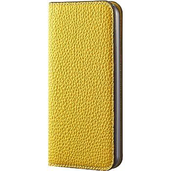 BONAVENTURA ボナベンチュラ iPhone5s/5 本革レザー アイフォンケース 手帳型 イエロー