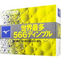 MIZUNO(ミズノ) ゴルフボール NEXDRIVE ネクスドライブ 1ダース(12個入り) 2ピース 5NJBM32…