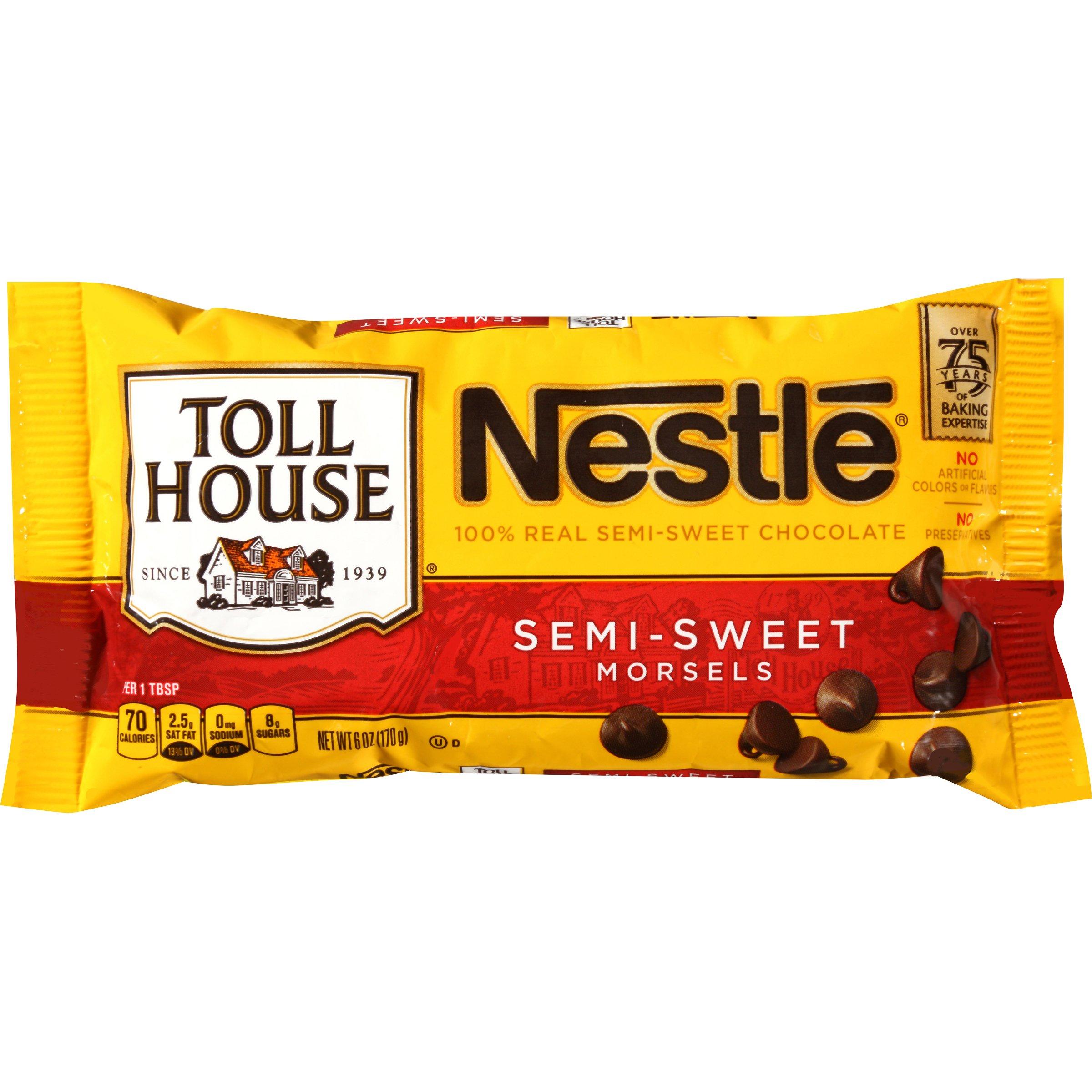ネスレ トールハウス セミスウィート モーセル 170g 賞味期限 2018-9 Nestle Toll House Semi-Sweet Morsels 6oz Better by Sep. 2018