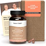 Vegan Collagen Booster - Future Kind Vegan Collagen Capsules Booster with Vegan Collagen Powder - Collagen Vegan Builder with