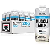 Muscle Milk 100 Calorie Protein Shake, Vanilla Crème, 20g Protein, 11 Fl Oz, 12 Pack