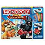 MONOPOLY Junior - Electronic Banking - 2 to 4 Players - Kids Board Games & Toys - Ages 5+