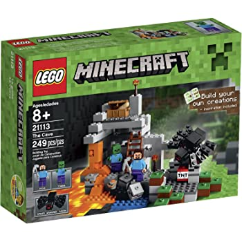 LEGO ® Minecraft minifigur Alex lavande de Set 21136 nouveau
