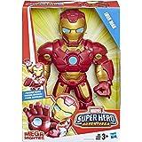 Marvel E4150AS00 Super Hero Adventures Sha Mega Iron Man toy Figure Red/Gold