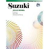 Suzuki Cello School Cello Part & CD, Volume 2 (International Edition): Cello Part, Book & CD