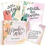 Affirmation Cards for Women: Beautifully Illustrated Inspirational Cards with Positive Affirmations to Help with Gratitude, M