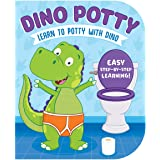 Dino Potty-Engaging Illustrations and Fun, Step-by-Step Rhyming Instructions get Little Ones Excited to Use the Potty on thei