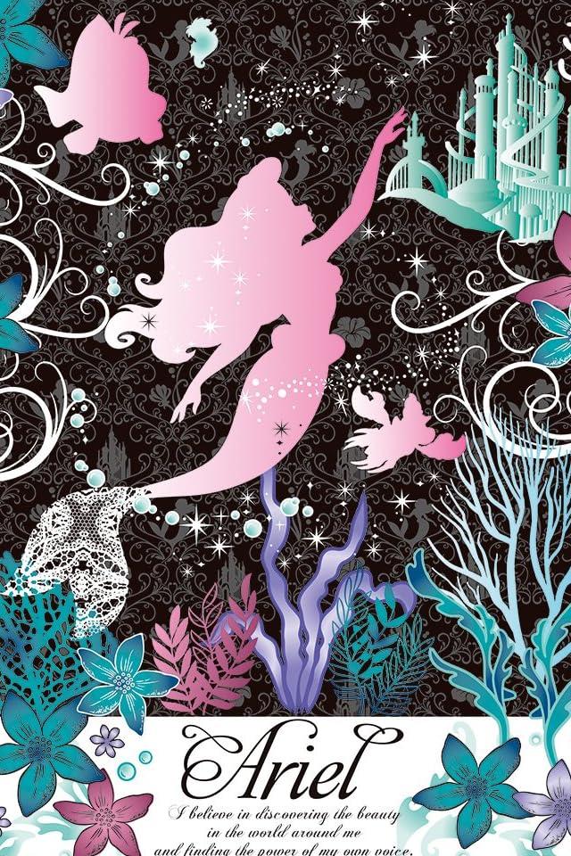 ディズニー 楽園の海のアリエル iPhone(640×960)壁紙 画像45426 スマポ