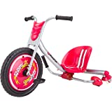 Razor 20036560 FlashRider 360 Drifting Trike Ride-On Tricycle, Red, 27.13 x 10 x 23.25