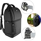 Neewer Sling Camera Bag - Camera Case Backpack with Padded Dividers for DSLR and Mirrorless Cameras (Nikon, Canon, Sony Penta