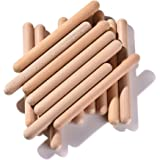 Rhythm Music Lummi Sticks for Kids, 16 Pack Sticks with Carry Bag, 8 Inch