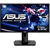 "Asus VG248QG 24"" Gaming Monitor, 1080P Full HD, 165Hz (Supports 144Hz), G-SYNC Compatible, 0.5ms, Extreme Low Motion Blur, Ey"
