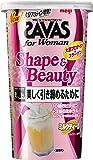 明治 ザバス(SAVAS) for Woman シェイプ&ビューティ ミルクティー風味【12食分】 252g