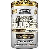 Muscletech Platinum 100% Hydrolyzed Collagen, Collagen Peptides, Unflavored, 1.52 Pound (0631656712827)