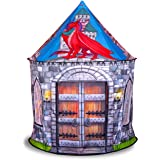 Dragon and Knight Castle Play Tent Playhouse | for Indoor and Outdoor Fun, Imaginative Games & Gift | Foldable Playhouse Toy