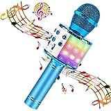 BlueFire Karaoke Microphone 4 in 1 Bluetooth Karaoke Microphone Wireless Handheld Microphone Portable Speaker Machine Home KT