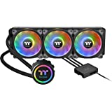 Thermaltake Floe DX 360 Triple Riing Duo 16.8 Million Colors RGB 54 LED LGA2066 AM4 Ready Intel/AMD Liquid Cooling All-in-One
