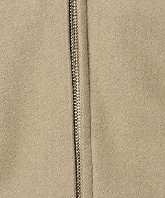 Lambswool Bomber Zip Jacket 3225-199-1828: Beige