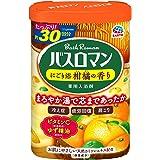 【医薬部外品】バスロマン 入浴剤 にごり浴 柑橘の香り [600g]