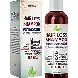 Best Hair Loss Shampoo Potent Hair Loss Fighting Formula 100% Natural Topical Regrowth Treatment Restores Hair Stops Hair She