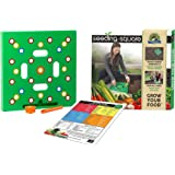 Square Foot Gardening Template by Seeding Square – Garden Seed Planter Tool Kit comes with Everything You Need: Square Foot S
