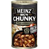Heinz Big 'N Chunky Steak and Mushroom Canned Soup, 535g
