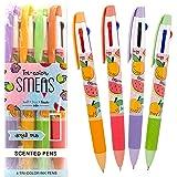 Tri-Color Smens- Scented Pens, 4 Count by Scentco