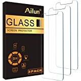AILUN Screen Protector Compatible iPhone XR (6.1inch 2018 Release),[3 Pack],0.33mm Tempered Glass, Compatible iPhone XR (6.1i