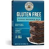 KING ARTHUR FLOUR, Fudge Brownie Mix, Gluten Free, 17 Ounce (Pack of 6)