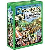 Z-Man Games ZMG78108 Carcassonne Expansion 8 Bridges, Castles and Bazaars Tile Game
