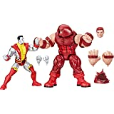 "MARVEL Comics Legends Series - Colossus Vs Juggernaut 6"" Action Figures 2 Pack - 80th Anniversary - Kids Toys - Ages 4+"