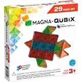 Magna-Qubix 18029 29-Piece Clear Colors Set, The Original, Award-Winning Magnetic 3D Building Shapes