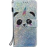 NEXCURIO Galaxy S9+ / docomo SC-03K / au SCV39 ケース 手帳型 PU レザーケース 耐衝撃 カード収納 スタンド機能 マグネット式 ギャラクシーS9プラス ケース 携帯カバー おしゃれ - NEYBO460192 N6