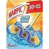 Harpic Active Fresh Power Toilet Block, Sparkling Citrus, 35g
